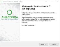 Anaconda3 4.4.0