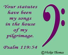 Psalm 119:54