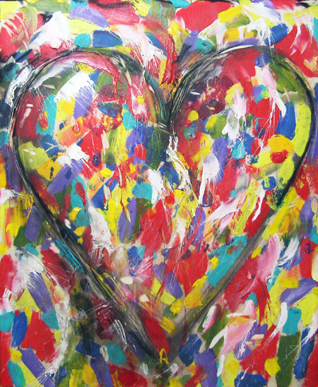 Jim Dine Hearts Valentines Day Averyboo Arts