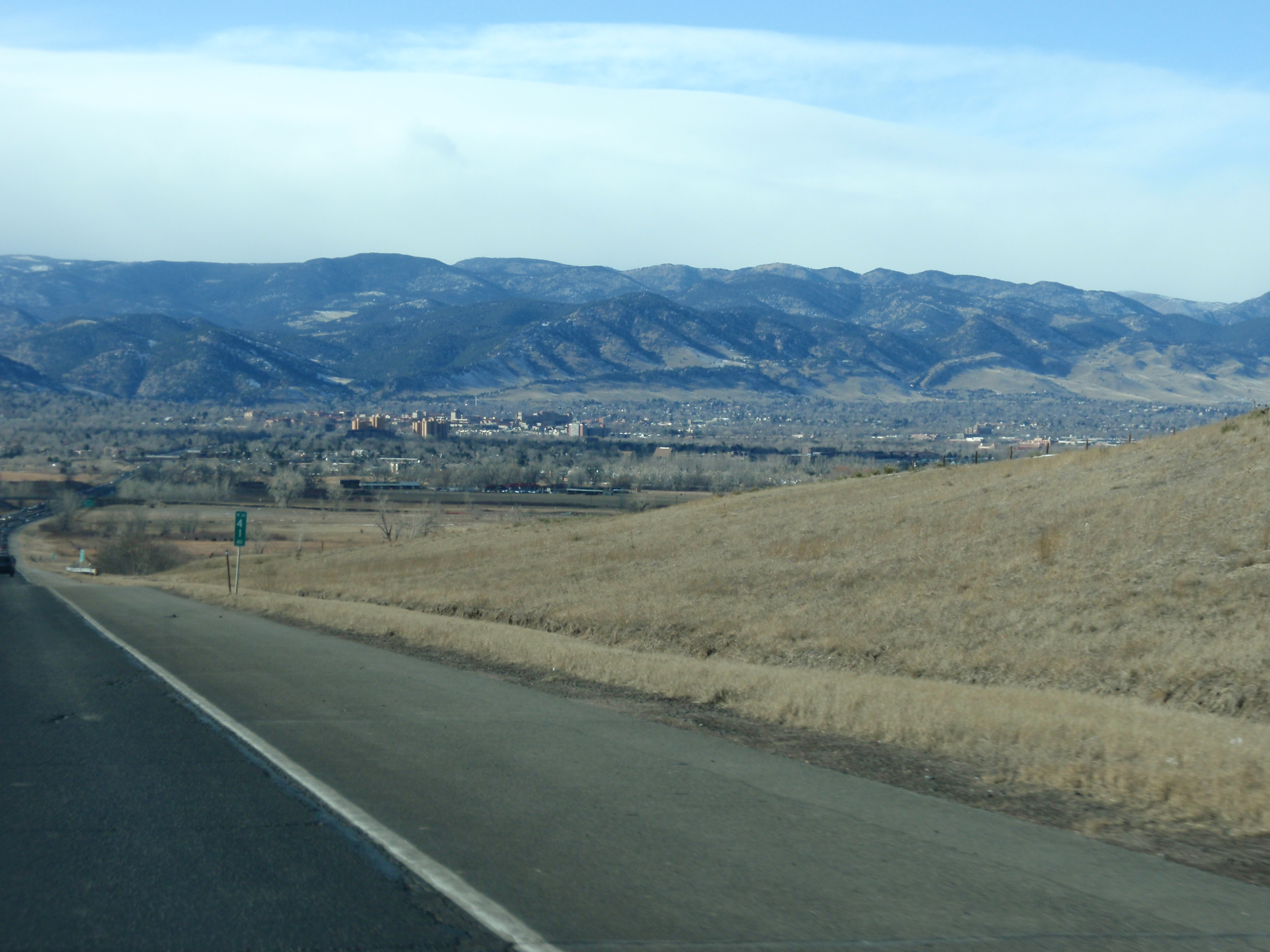 Boulder and the Rockies