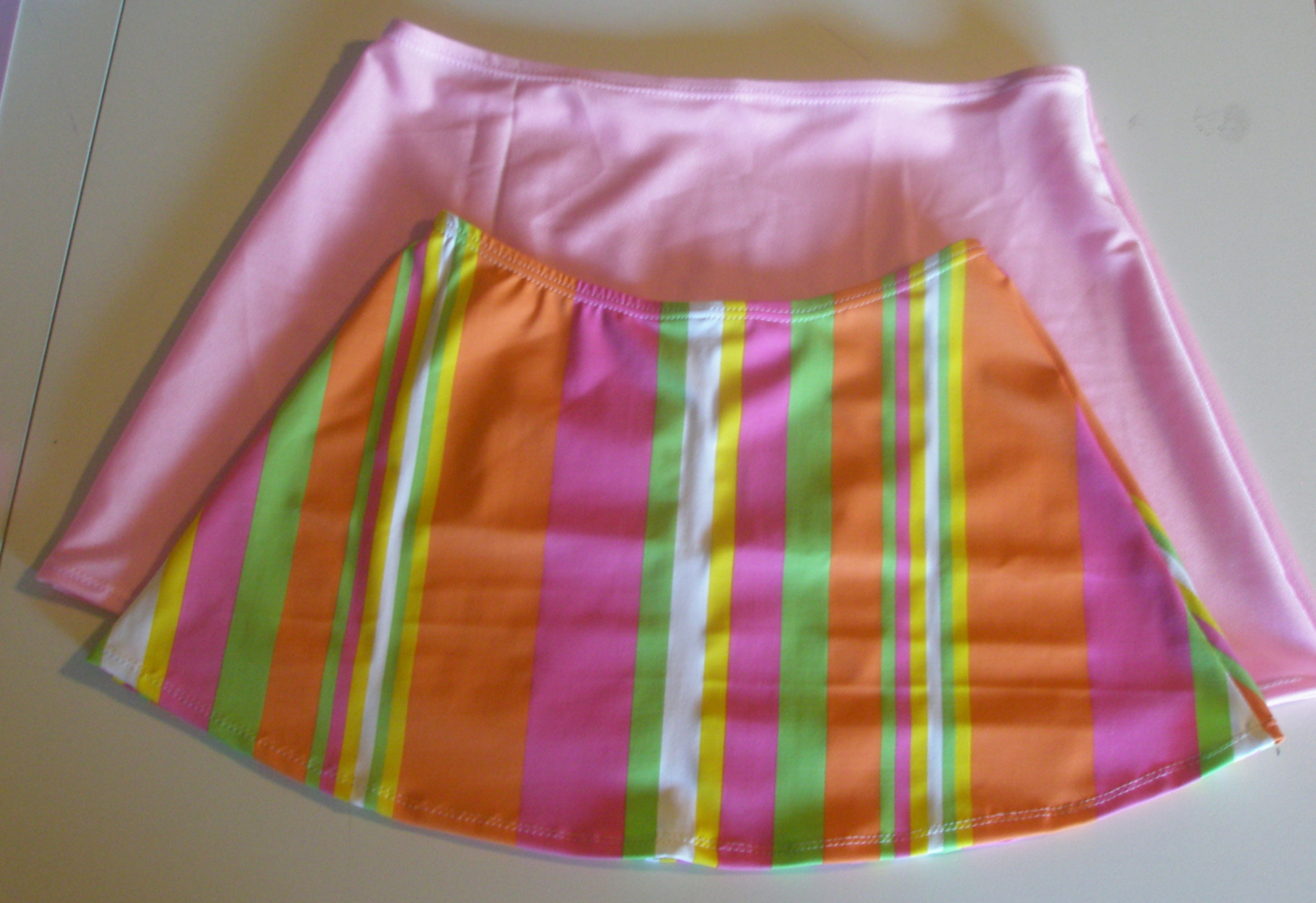 How to Draft a Swim Skirt Pattern Sewing Tutorial