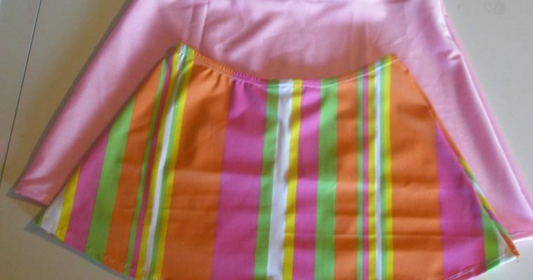 Swim Skirt Sew Along