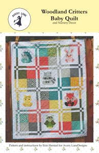 Woodland Critters Baby Quilt-page001