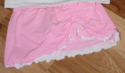 Gottex knock-off Swim Skirt DIY sewing tutorial