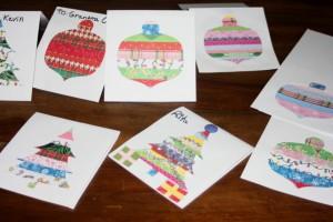 Avery Lane Blog Christmas card craft tutorial