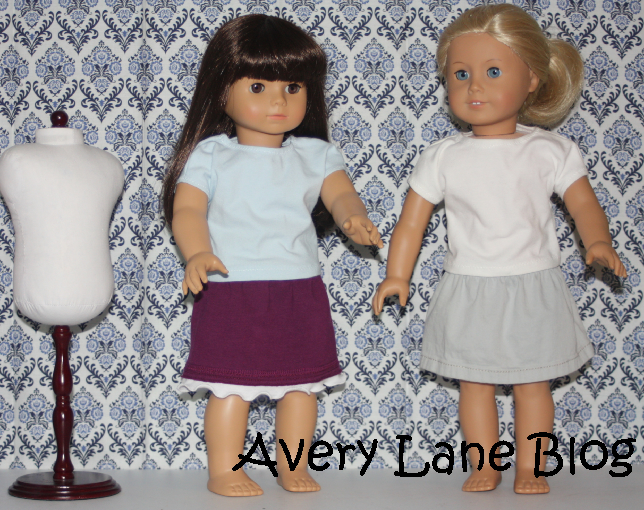 Upcycle Sewing Tutorial: pants to doll skirts