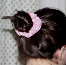 Hair Scrunchie Sewing Tutorial