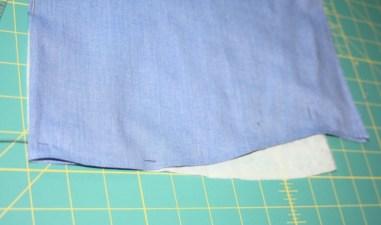 Avery Lane Blog upcycle tutorial mens dress shirt into girl's  tunic13