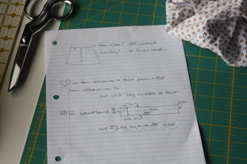 Avery Lane Sewing Blog A Button Down SKirt Upcycle Project1