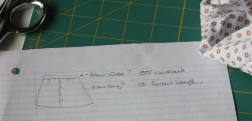 Avery Lane Sewing Blog skirt tutorial