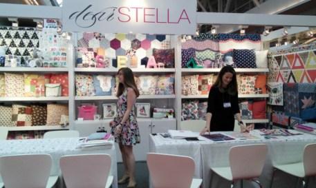 Dear Stella Booth quilt Market