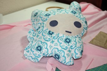 kitty pillow 4-H sewing project for fair