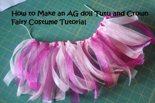 Faerie costume for dolls tutorial for kids 77