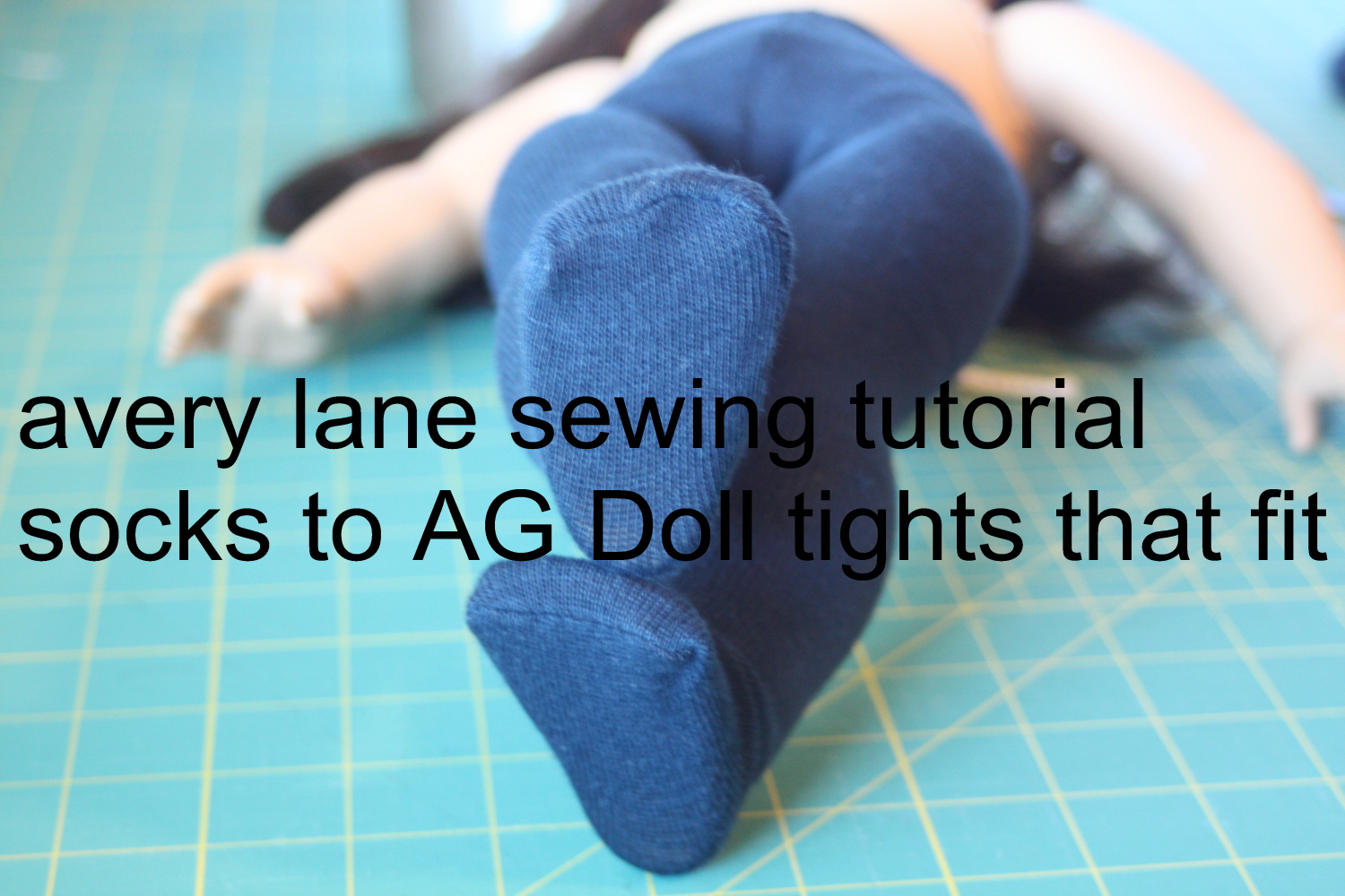 Sweater Tights for Dolls
