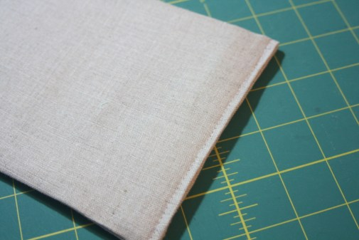Sewing tutorial for making phone charging station 10