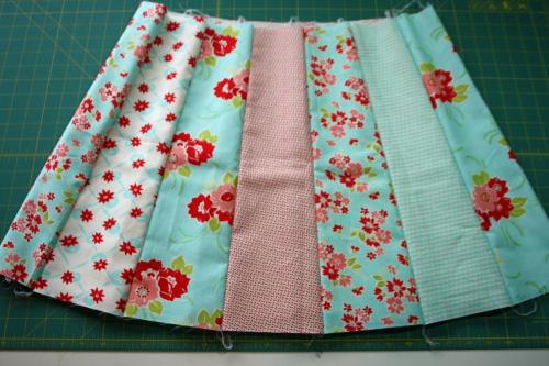 13 Fat Quarter Bundle Skirt Country Skirt Sewing  Tutorial 034