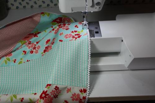 19b Fat Quarter Bundle Skirt Country Skirt Sewing  Tutorial 058