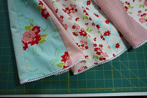 19d Fat Quarter Bundle Skirt Country Skirt Sewing  Tutorial 061