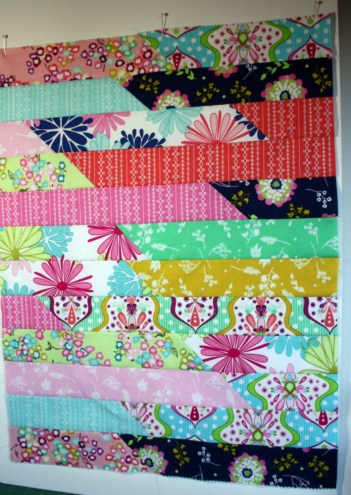 jelly roll doll quilt tutorial