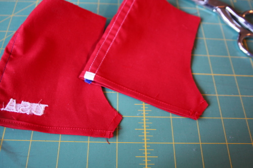Athletic shorts sew along sew in style book 003
