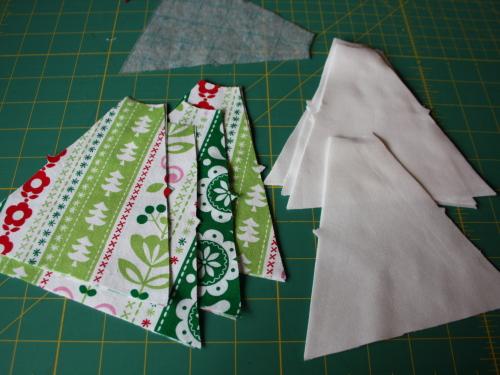 Too Cute Doll Designs Newsletter Magazine mini tree skirt tutorial blog sew along 5