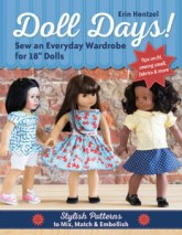 Doll Days Sewing Pattern book for American Girl Dolls