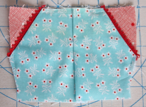 1 Doll Days Modern Camp Shorts Sew Along AveryLaneSewing.com fold and press the center opening