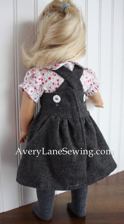 Modern Jumper Dress and Button down Shirt from Doll Days