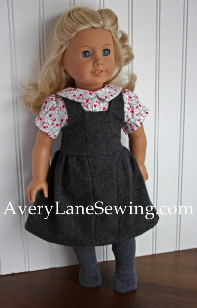 Modern Jumper and Shirt patterns from Doll Days