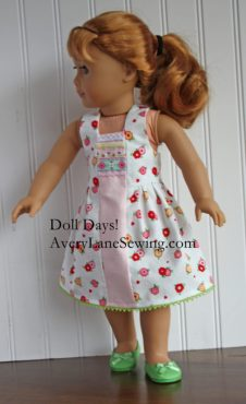 free doll clothes patterns for American Girl Dolls