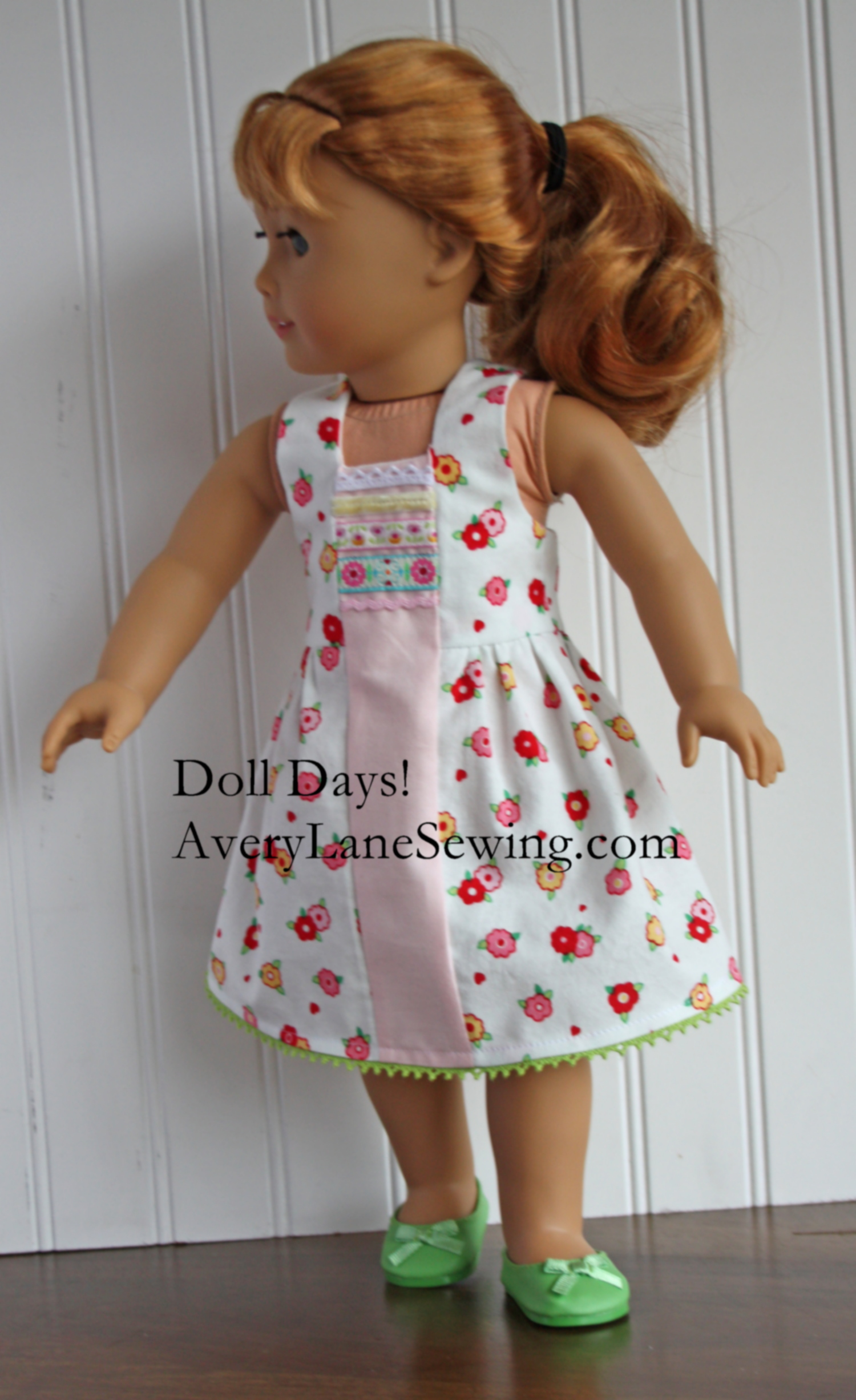 Doll Days! Modern Jumper Sew Along Day 4