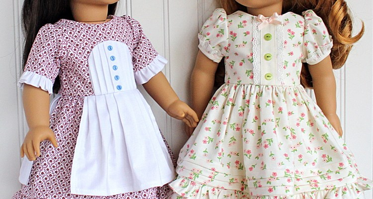 New Story Book Dress Pattern for 18 inch Dolls