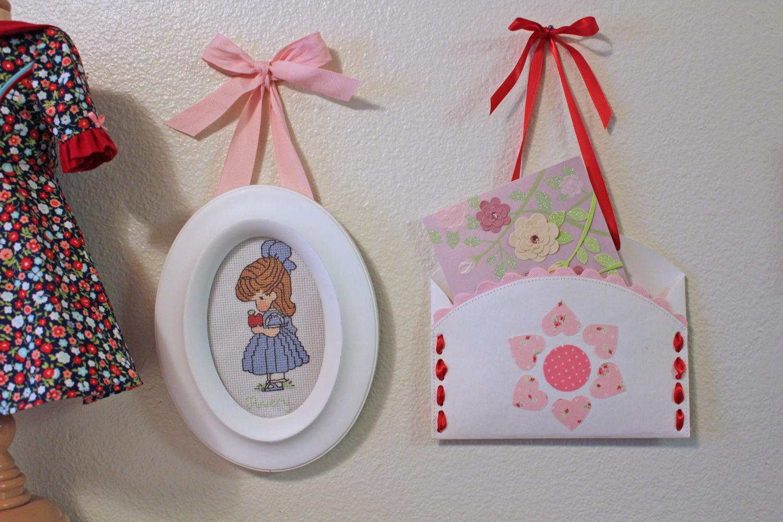 Valentine Envelope Holder craft tutorial