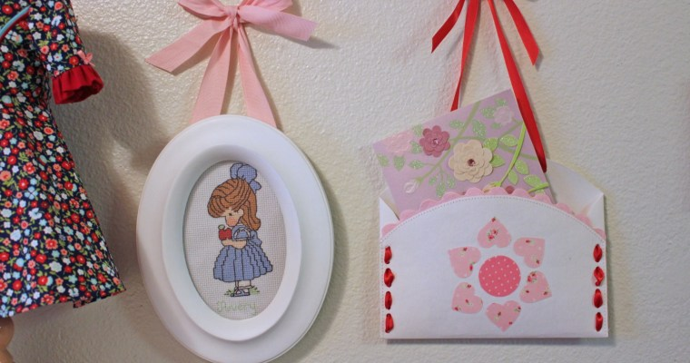 Valentine Envelope Holder craft tutorial