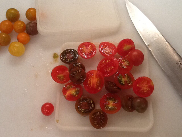 It's all about preserving today – Roasted Cherry Tomatoes