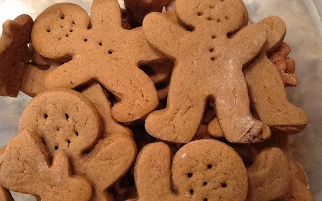 Gingerbread Men for the Holidays!