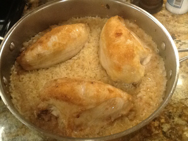 Merri's One-Pot Chicken and Rice