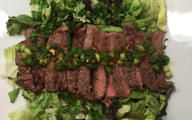Thai Beef Salad!