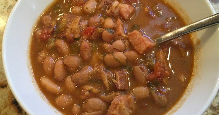 Pinterest Fail!  Slow Cooker Charro Beans