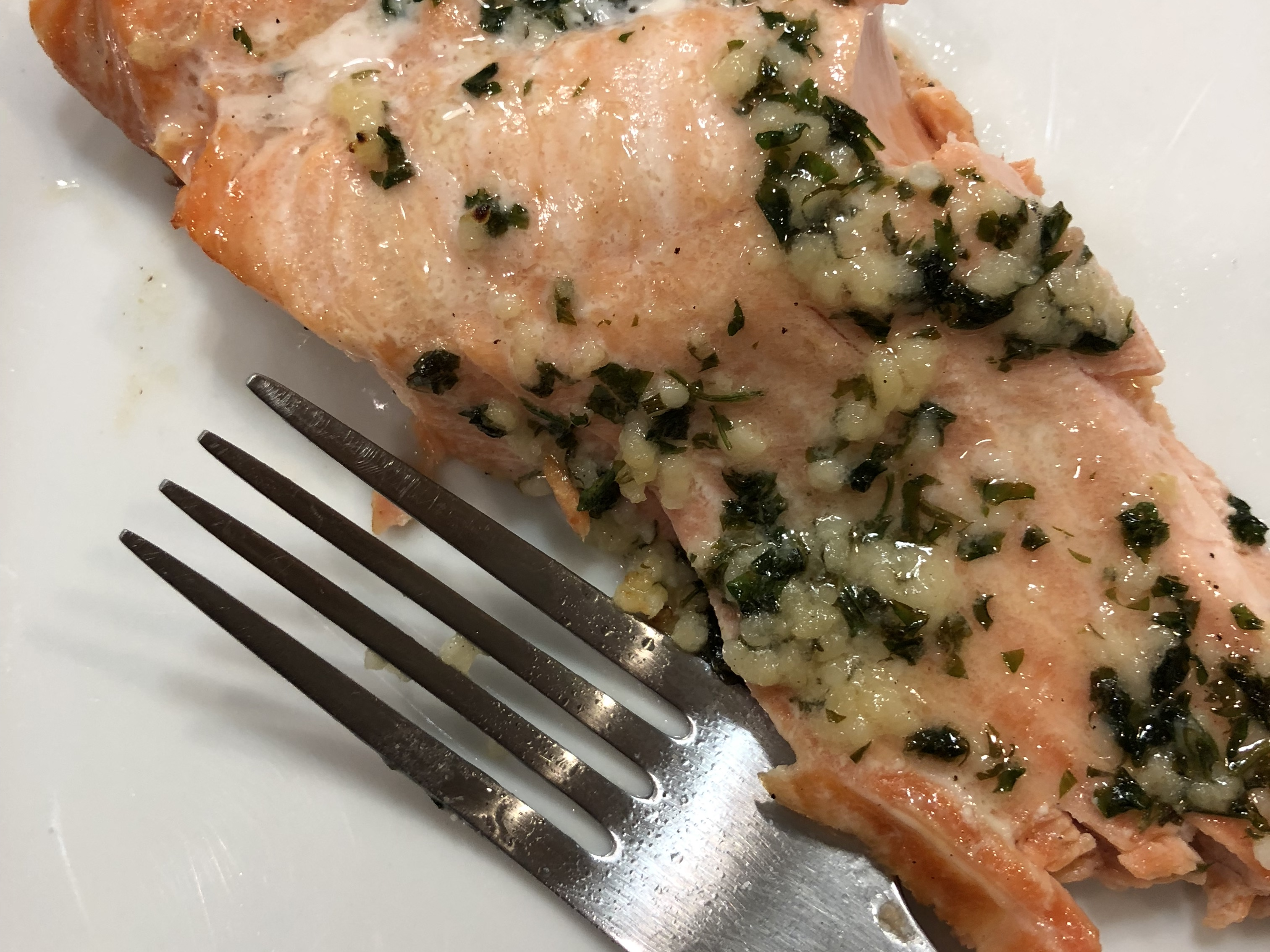Dad's Grilled Salmon