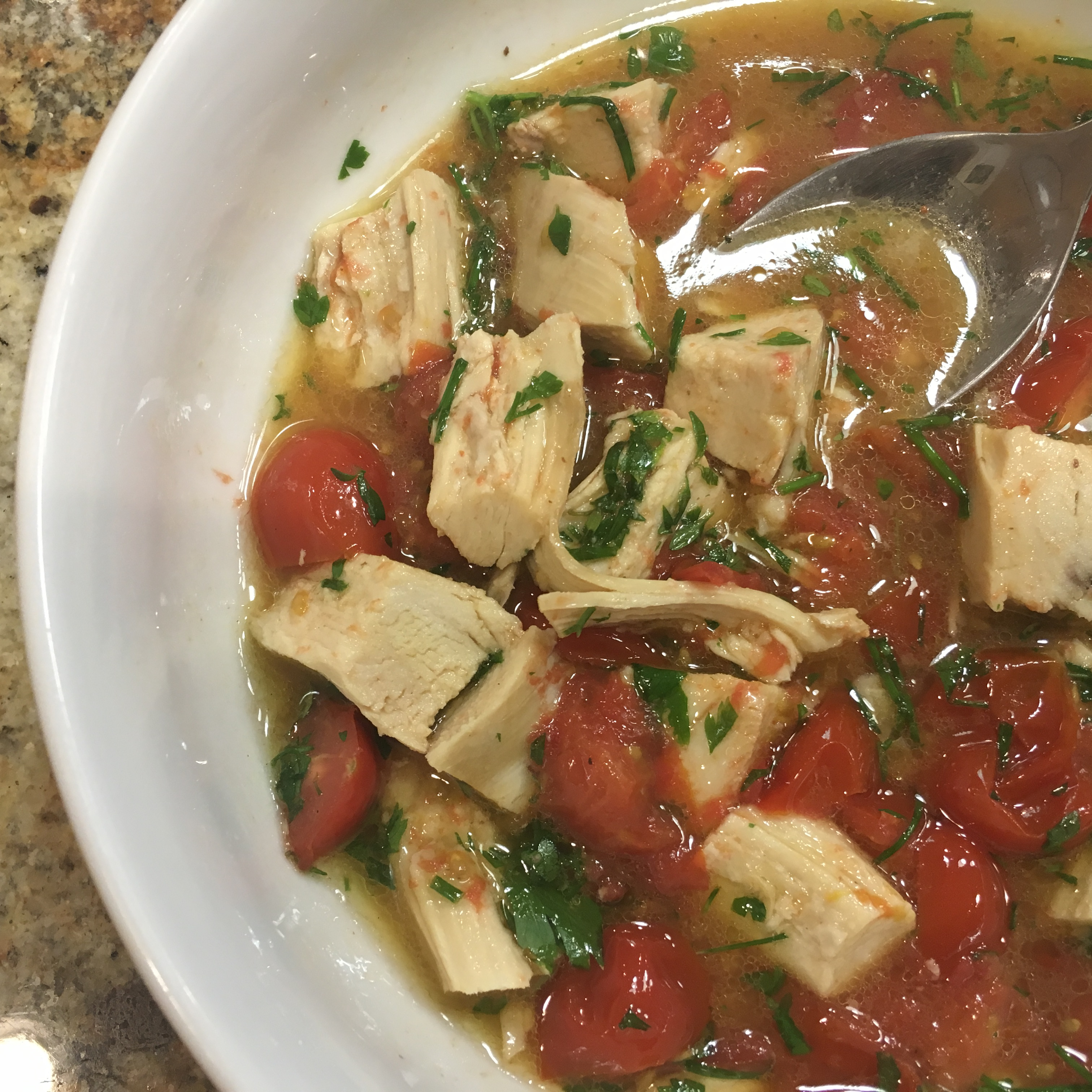 Chicken, Tomato, and Fresh Herb Soup
