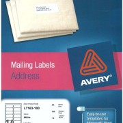 Avery L7163 Label Template  details about avery compatible