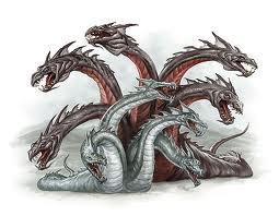 Hasil gambar untuk hydra nine headed monster