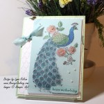 Stampin Up Perfect Peacock AverysOwlery.com