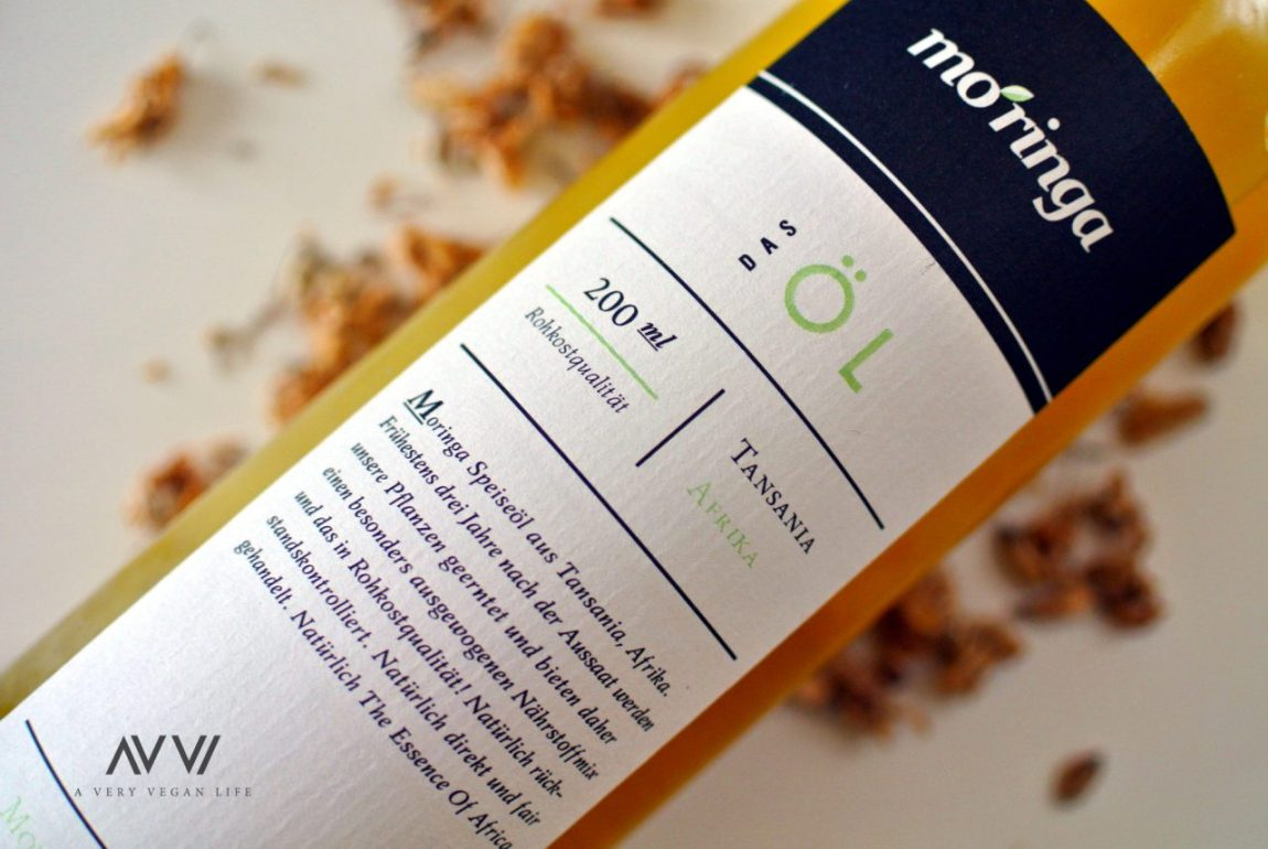 Moringa-Speiseöl-Rohkost-Vegan