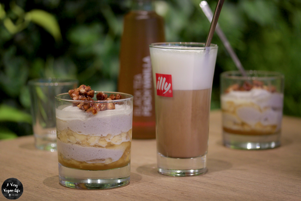veganes dessert bei vapiano
