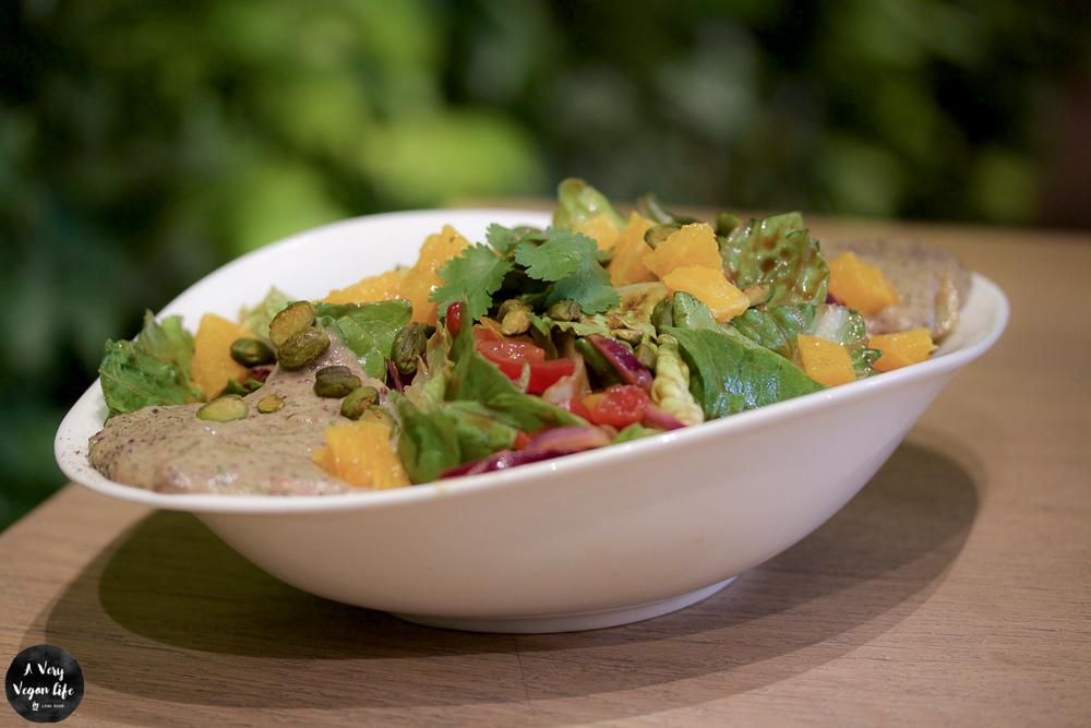 veganer Tex Mex Salat bei Vapiano