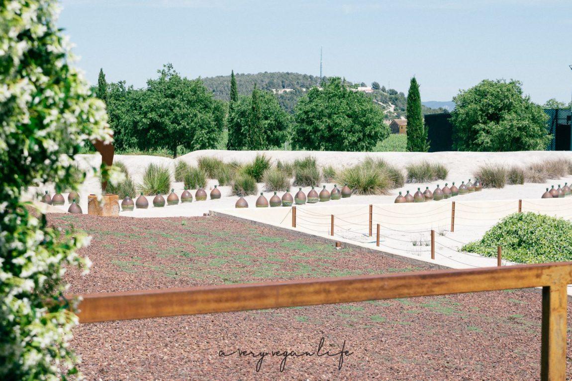 Torres Bodegas, dekorative Weingefäße