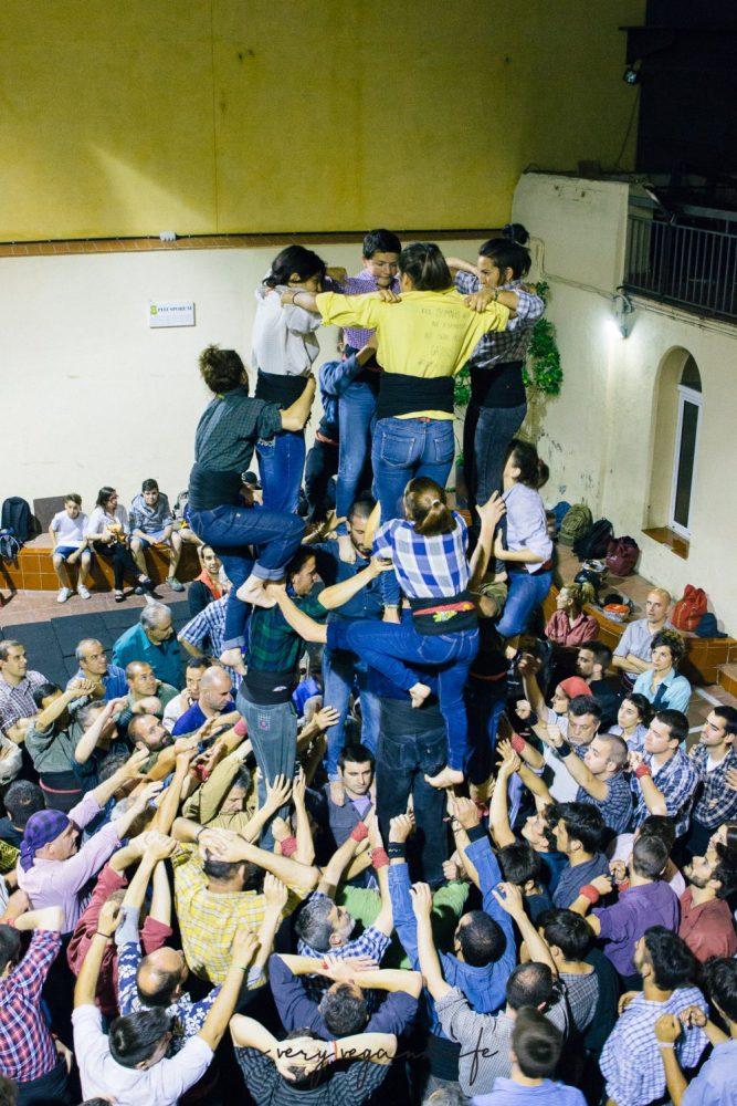 Castellers in Terrassa