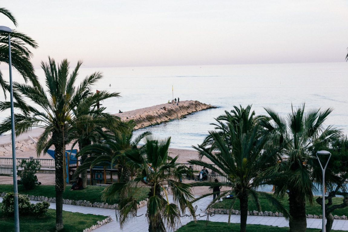 Strand in Sitges